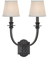 Picture for category Hudson Valley 962-OB Alden Wall Lantern 15in Old Bronze 2-light
