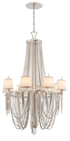 Picture for category Corbett Lighting 157-08 Chandeliers Flirt