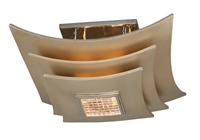 Picture for category Corbett Lighting 155-33 Semi Flush Muse