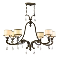 Picture for category Corbett Lighting 86-56 Chandeliers Roma