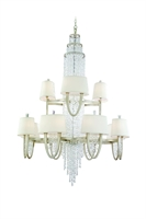 Picture for category Corbett Lighting 106-024 Chandeliers Viceroy