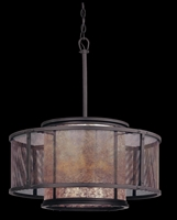 Picture for category Troy F3105 Copper mountain Pendants 29in 6-light