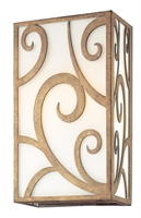 Picture for category Troy B3672 Wall Sconce Revolution Bronze Hand-Forged Iron 120 W 2 Light 11 inch