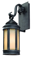 Picture for category Troy B1461AI Wall Lantern Andersons Forge Aged Iron Forged Iron 1 Light 16 inch