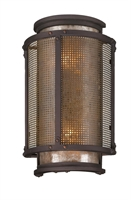 Picture for category Troy B3272 Wall Lantern Copper Mountain Bronze Hand Wrought Iron 2Light 14 inch
