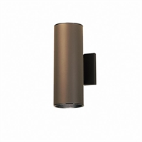 Picture for category Kichler 9244AZ No family association Outdoor Wall Sconces Architectural Bronze