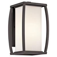 Picture for category Kichler 49337AZ Bowen Outdoor Wall Sconces