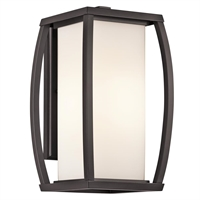 Picture for category Kichler 49338AZ Bowen Outdoor Wall Sconces