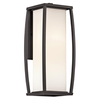 Picture for category Kichler 49339AZ Bowen Outdoor Wall Sconces