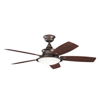 Picture for category Kichler 310104WCP Cameron Ceiling Fans Weathered Copper Powder Coat