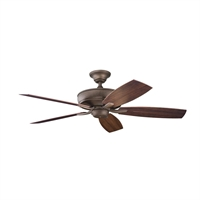 Picture for category Kichler 310103WCP Monarch ii patio Ceiling Fans Weathered Copper Powder Coat