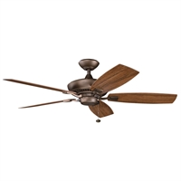 Picture for category Kichler 310192WCP Canfield patio Ceiling Fans Weathered Copper Powder Coat