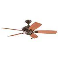 Picture for category Kichler 310192TZP Canfield patio Ceiling Fans Tannery Bronze Powder Coat