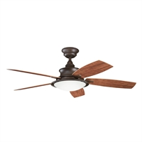 Picture for category Kichler 310104TZP Cameron Ceiling Fans Tannery Bronze Powder Coat