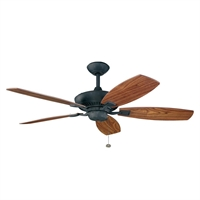 Picture for category Kichler 300117DBK Canfield Ceiling Fans Distressed Black
