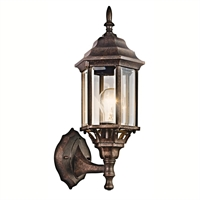 Picture for category Kichler 49255TZ Chesapeake Outdoor Wall Sconces