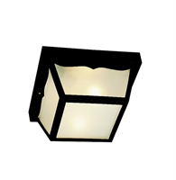 Picture for category Kichler 9322BK Outdoor plastic fixtures Outdoor Flush Mount
