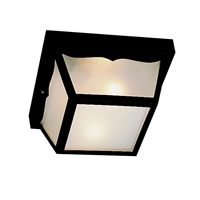 Picture for category Kichler 9320BK Outdoor plastic fixtures Outdoor Flush Mount