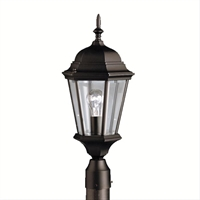 Picture for category Kichler 9956BK Madison Outdoor Post Light
