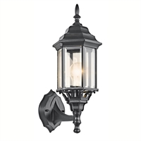 Picture for category Kichler 49255BK Chesapeake Outdoor Wall Sconces