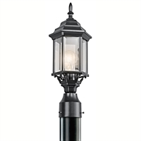 Picture for category Kichler 49256BK Chesapeake Outdoor Post Light