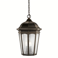 Picture for category Kichler 9539RZ Courtyard Outdoor Pendant Rubbed Bronze