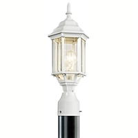 Picture for category Kichler 49256WH Chesapeake Outdoor Post Light