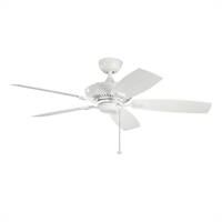 Picture for category Kichler 310192WH Canfield patio Ceiling Fans White