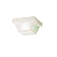 Picture for category Kichler 9320WH Outdoor plastic fixtures Outdoor Flush Mount