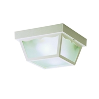 Picture for category Kichler 9322WH Outdoor plastic fixtures Outdoor Flush Mount