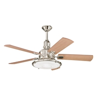 Picture for category Kichler 300020PN Kittery point Ceiling Fans Polished Nickel