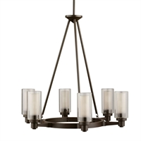 Picture for category Kichler 2344OZ Circolo Chandeliers Olde Bronze