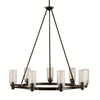 Picture for category Kichler 2346OZ Circolo Chandeliers Olde Bronze