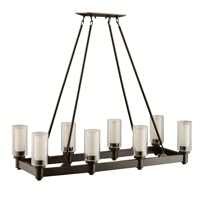 Picture for category Kichler 2943OZ Circolo Chandeliers Olde Bronze