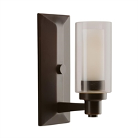 Picture for category Kichler 6144OZ Circolo Wall Sconces Olde Bronze
