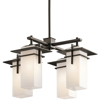 Picture of Kichler 49638OZ Caterham Outdoor Chandeliers