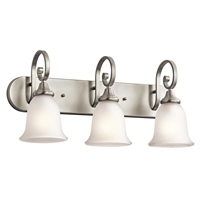 Picture for category Kichler 45055OZ Monroe Bath Lighting Olde Bronze