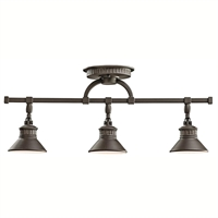 Picture for category Kichler 42439OZ Sayre Track Lighting Olde Bronze