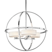 Picture for category Kichler 42505CH Olsay Chandeliers Chrome