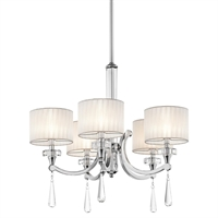 Picture for category Kichler Lighting 42631CH Chandeliers Parker point
