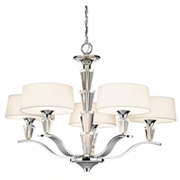 Picture for category Kichler Lighting 42030CH Chandeliers Crystal persuasion