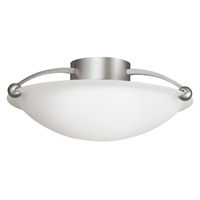Picture for category Kichler 8406NI No family association Semi Flush Brushed Nickel