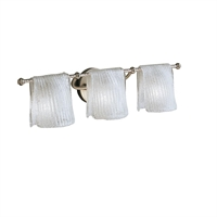 Picture for category Kichler 6313NI Drapes Bath Lighting Brushed Nickel 3-light