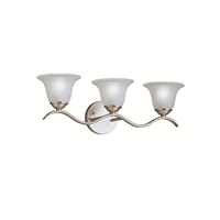 Picture for category Kichler 6323NI Dover Bath Lighting Brushed Nickel