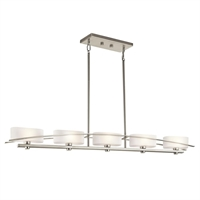 Picture for category Kichler 42018NI Suspension Island Lighting Brushed Nickel
