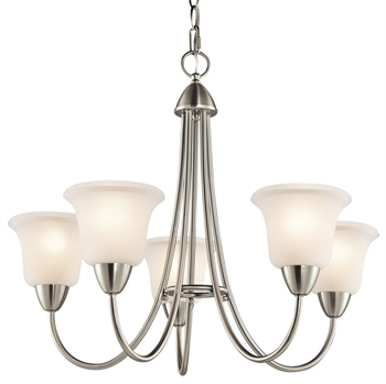 Picture of Kichler 42884NI Nicholson Chandeliers Brushed Nickel