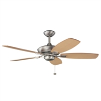 Picture for category Kichler 300117NI Canfield Ceiling Fans Brushed Nickel