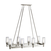 Picture for category Kichler 2943NI Circolo Chandeliers Brushed Nickel