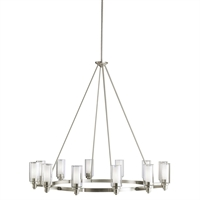 Picture for category Kichler 2347NI Circolo Chandeliers Brushed Nickel