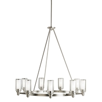 Picture for category Kichler 2346NI Circolo Chandeliers Brushed Nickel